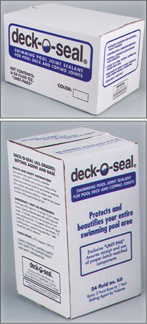 DECK-O-SEAL - Polysulfide-Based Joint Sealant
